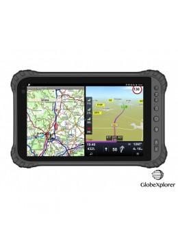 Tablette GPS GlobeXplorer X8