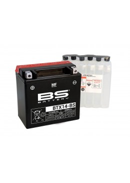 BATTERIE BS BTX14-BS / YTX14-BS / YTX14B
