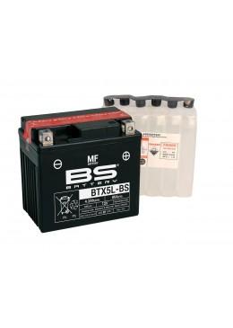 BATTERIE BS BTX5L-BS / YTX5L-BS / YTX5LB