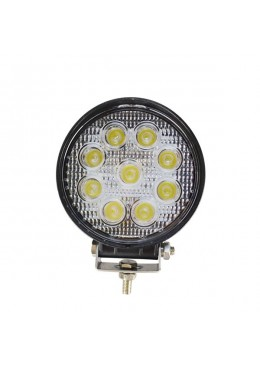 PROJECTEUR ROND 9 LED 27W 1700 LUMEN